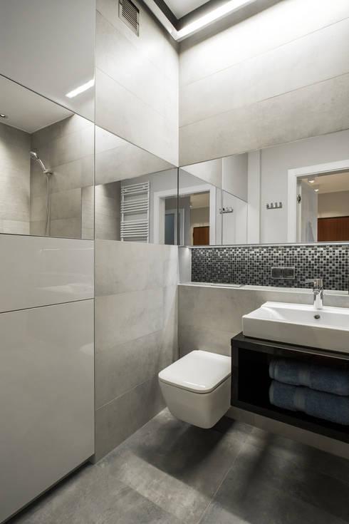 Szara łazienka - oryginalna, elegancka, szykowna!