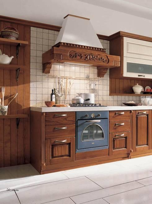 10 cocinas r sticas con mucho encanto for Azulejos cocinas rusticas