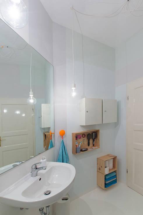 translation missing: eg.style.حمام.scandinavian حمام تنفيذ Berlin Interior Design