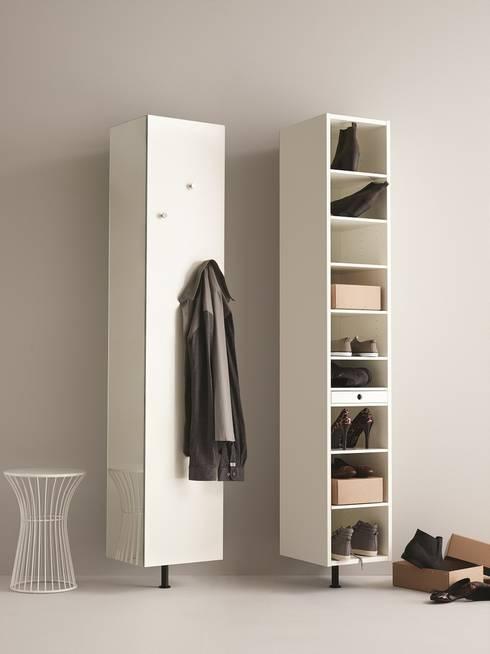 scarpiere slim salvaspazio funzionalit e versatilit in. Black Bedroom Furniture Sets. Home Design Ideas