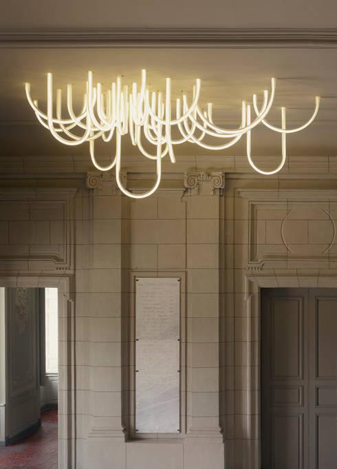 comment choisir son luminaire pour le salon. Black Bedroom Furniture Sets. Home Design Ideas