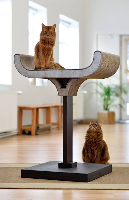 katzenfreundliche ideen f r die wohnung. Black Bedroom Furniture Sets. Home Design Ideas