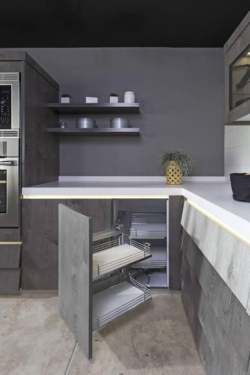 Cocinas 10 muebles auxiliares para organizarla mejor for Trastes de cocina