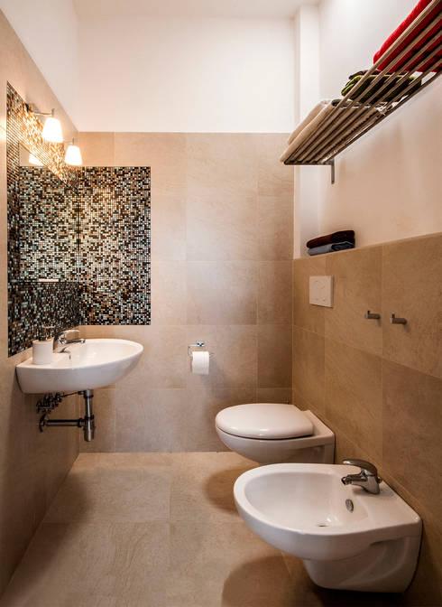 Sanitari sospesi per un bagno sempre in ordine for Piccolo bagno mediterraneo