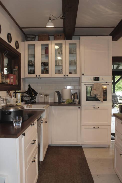 11 najpiękniejszych rustykalnych kuchni! -> Kuchnia Drewniana Rustykalna