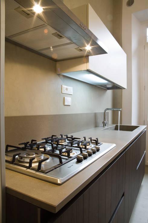 Il rivestimento per cucina a prova di chef for Negozio con alloggi al piano di sopra