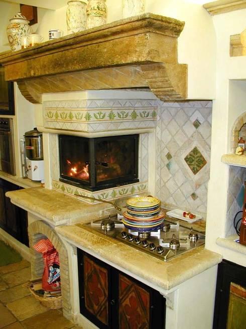 6 idee in ceramica per il piano della cucina - Pomelli ceramica per cucina ...