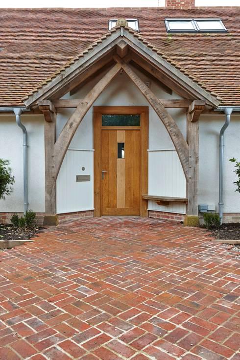 Puertas y ventanas de estilo rural por Adam Coupe Photography Limited
