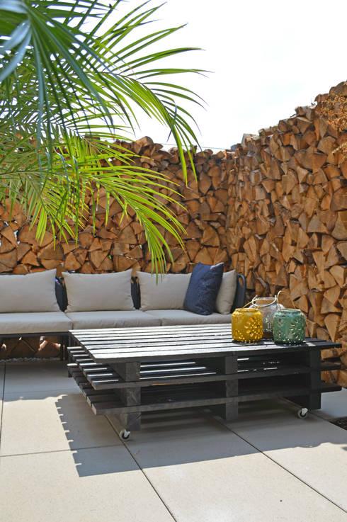 Terrazas  de estilo translation missing: cl.style.terrazas-.mediterraneo por Kristina Steinmetz Design