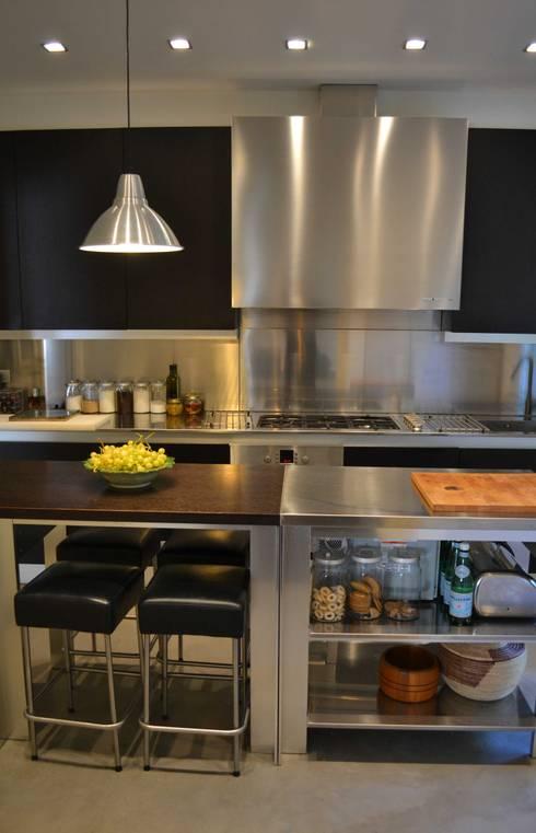 Come creare una favolosa cucina a isola a costo zero - Pannello rivestimento cucina ...
