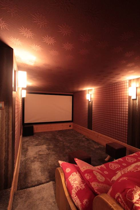 10 innovations home deco pour salle multim dia - Salle de cinema privee ...