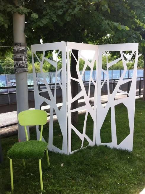 Inventare nuovi spazi personalizzabili col paravento separ - Separe da esterno ...