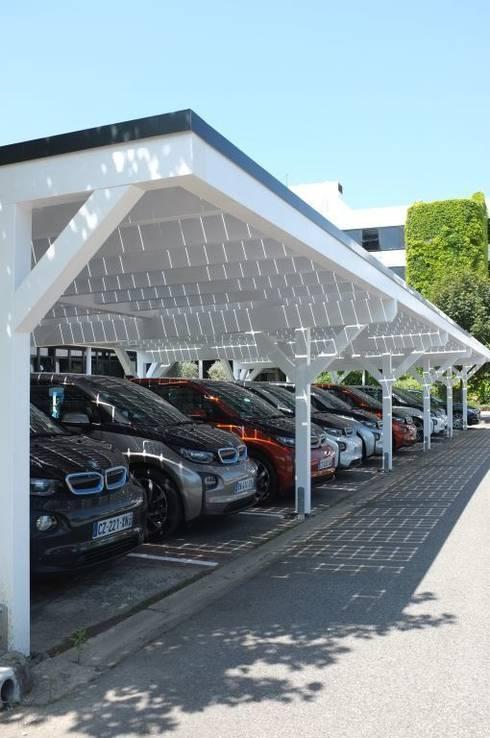 Le tettoie per auto: funzionali ed ecologiche