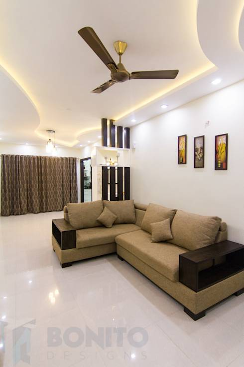 A beautiful and furnished home in bangalore for Living room designs bangalore