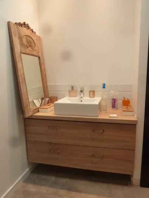Maisons de Ville Salle de bain de style de style Moderne par EURL