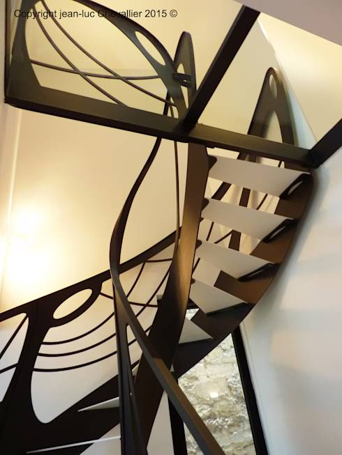Po tische trappen een sierlijke beweging in je interieur for Deco trap interieur