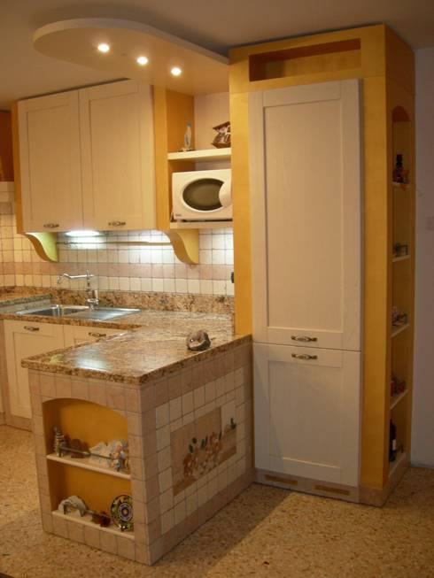 Cucine in muratura 10 idee che vi faranno innamorare - Bordi per mobili ...