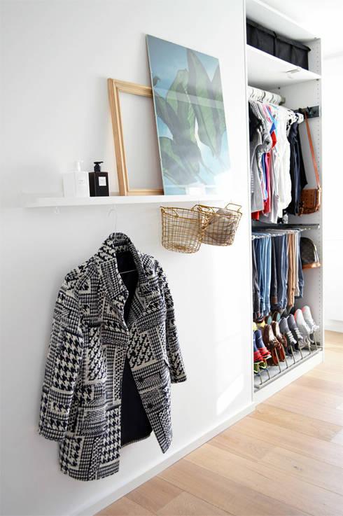 Closets escandinavos por Kristina Steinmetz Design