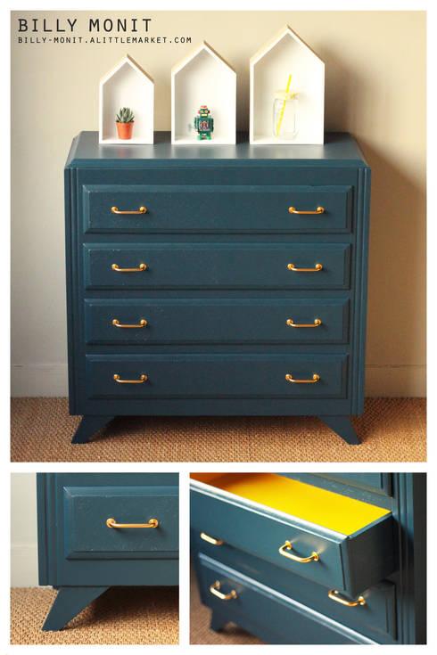 a cor azul aplicada aos interiores. Black Bedroom Furniture Sets. Home Design Ideas