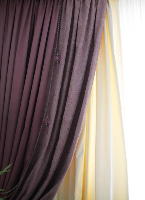 Cortinas una tela diferente para cada ambiente - Tela termica para cortinas ...
