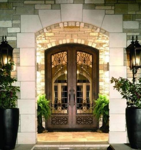 16 puertas de herrer a que har n lucir la entrada de tu casa for Puertas principales de herreria elegantes