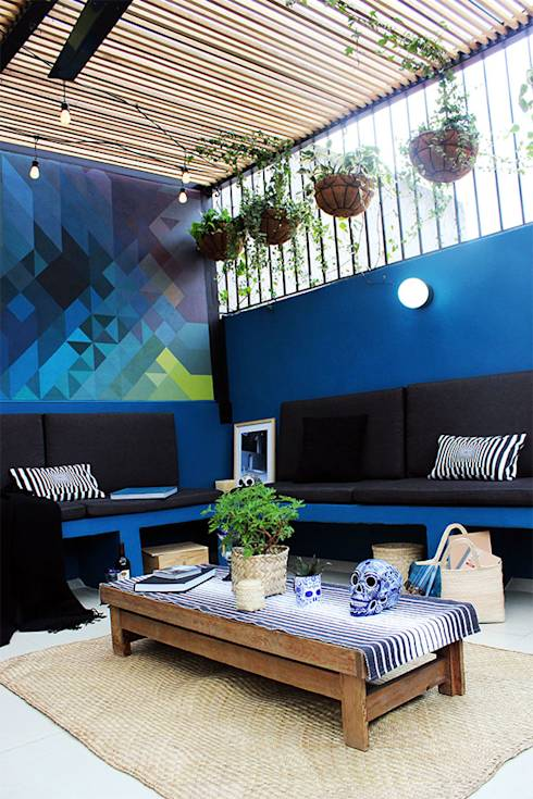 Remodelación Terraza: Terrazas de estilo translation missing: mx.style.terrazas.moderno por NINA SAND