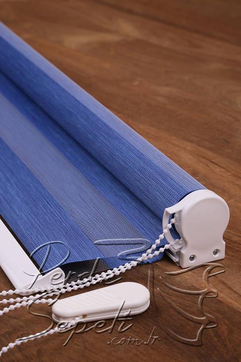 Finestre vestite a nuovo con le tende per casa su misura - Tende per casa moderna ...