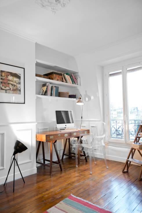 comment int grer un espace bureau dans une petite pi ce. Black Bedroom Furniture Sets. Home Design Ideas
