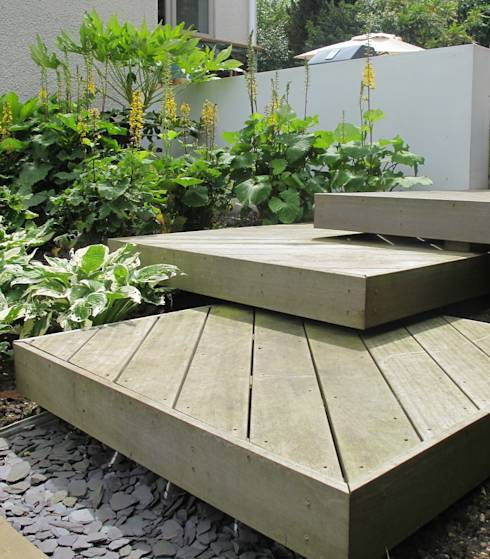 Black Granite Kitchen Platform Design: How Do I Maximise Space In A Small Garden?