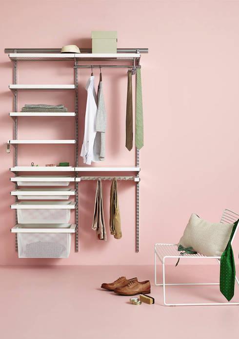 Closets minimalistas por Elfa Deutschland GmbH