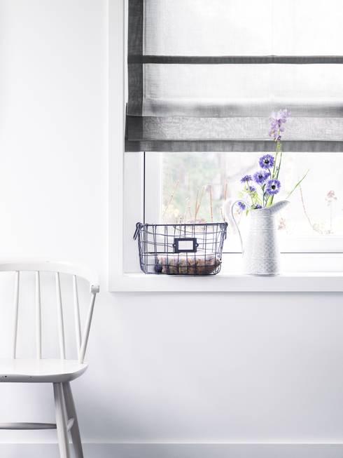 Subtiel met kleur gordijnen met liefde voor je raam - Keuken kleurideeen ...