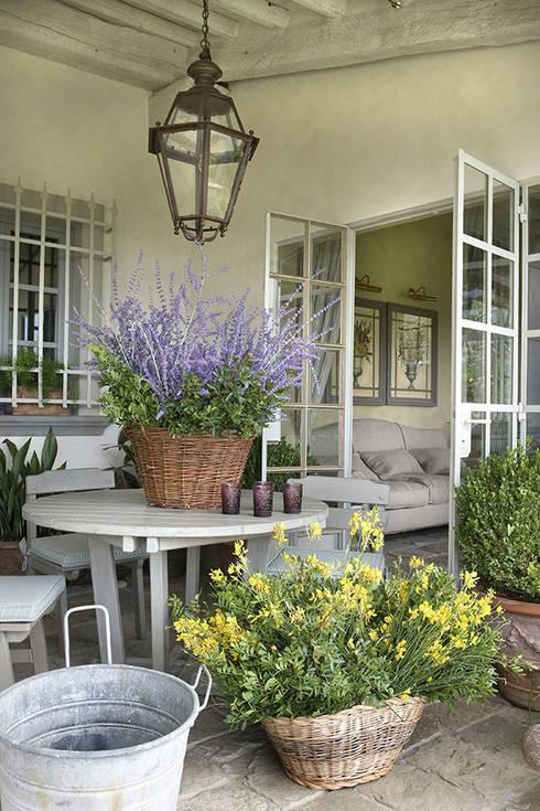 Cesti in vimini gioielli di tradizione in stile mediterraneo - Decorare il terrazzo ...