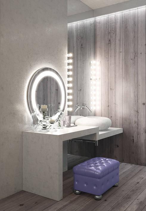 Recámaras de estilo minimalista por FEDOROVICH Interior