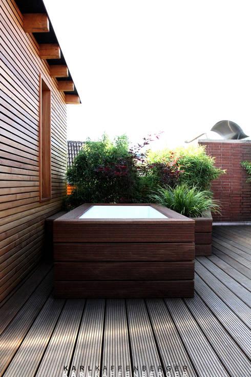 Umgestaltung:Von der schäbigen Dachterrasse zur Wellnesszone