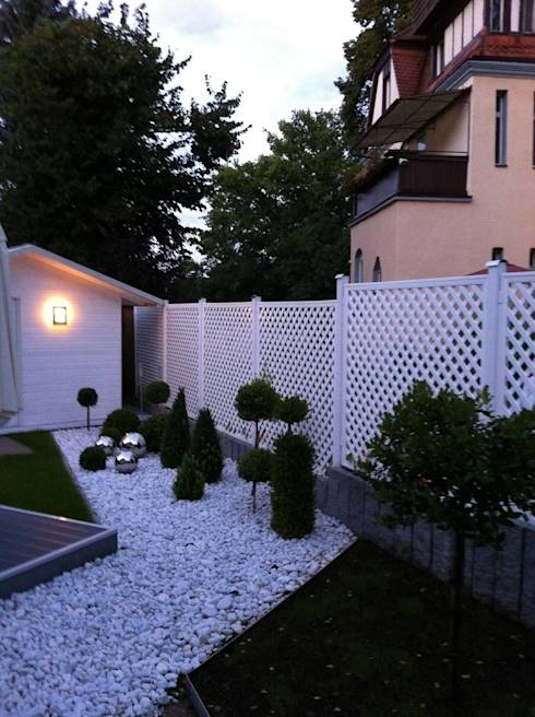 25 modern fences to frame your yard with style - Vallas para terrenos ...