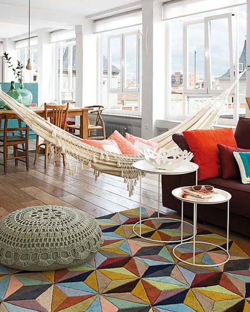 Livings de estilo escandinavo por nimú equipo de diseño