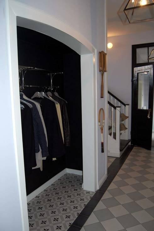 Historisch bakstenen huis in de landelijke stijl - Hal ingang design huis ...
