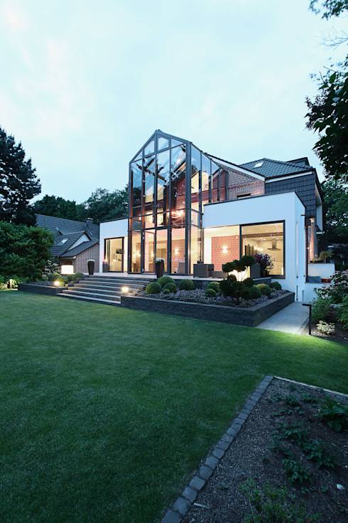 translation missing: id.style.rumah.modern Rumah by 28 Grad Architektur GmbH