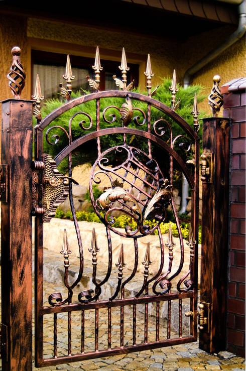 15 rejas de hierro que har n lucir tu casa hermosa y segura Puertas corredizas seguras