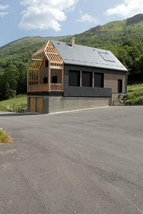 Construction D 39 Un Fantastique Chalet Moderne