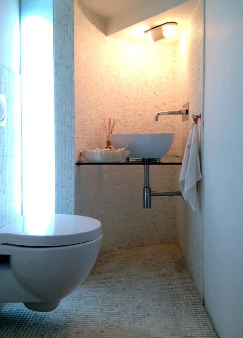 Come arredare il bagno per gli ospiti for Bagno piccolo andrea castrignano