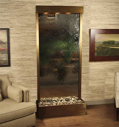 7 fuentes y cascadas de interior para casas modernas - Fuente para casa ...