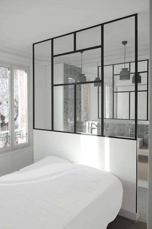 9 chambres minimalistes qui vont vous faire r ver. Black Bedroom Furniture Sets. Home Design Ideas