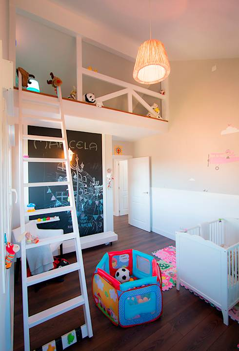 Ideas de dormitorio tanto para ni os como para ni as - Dormitorios dobles para ninos ...