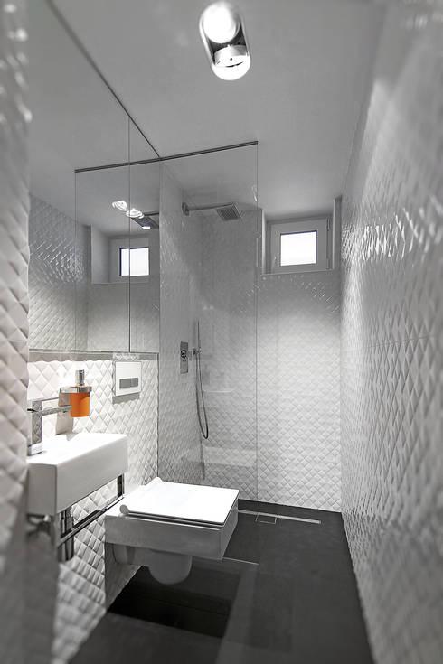 translation missing: eg.style.حمام.modern حمام تنفيذ Neostudio Architekci