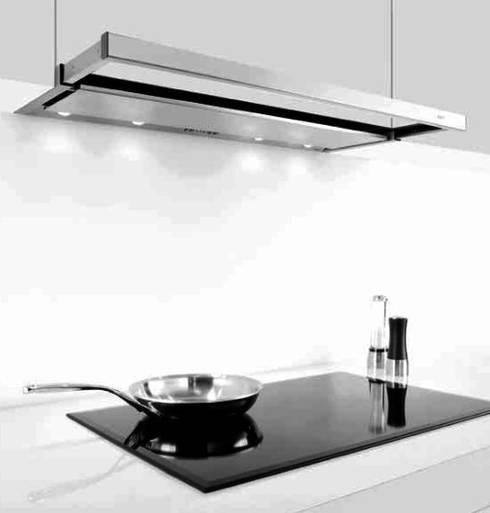 10 campanas de cocina funcionales y decorativas for Mueble cocina 70