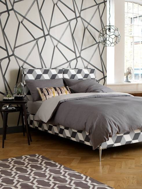 geniale ideen f r die wandgestaltung im schlafzimmer. Black Bedroom Furniture Sets. Home Design Ideas