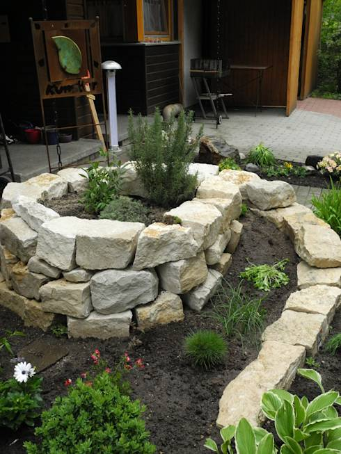 11 tolle ideen f r naturstein im garten - Gartengestaltung ideen mit natursteinen ...