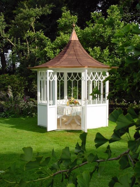 9 geniale pavillons die das beste aus deinem garten for Gartengestaltung pavillon ideen