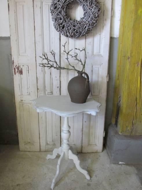 Rustieke eiken meubels - Landelijke chique lounge ...